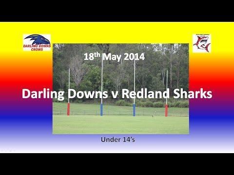 Darling Downs Crows v Redland Sharks U14 18.5.14