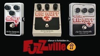 EHX Nano Big Muff vs Big Muff / vs Little Big Muff