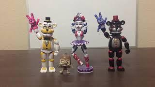 DRG's FNAF Custom Figures #11- Funtime Yenndo, Lora & Funtime Lefty