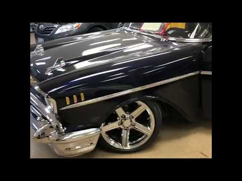 1957 Chevrolet Bel Air custom audio
