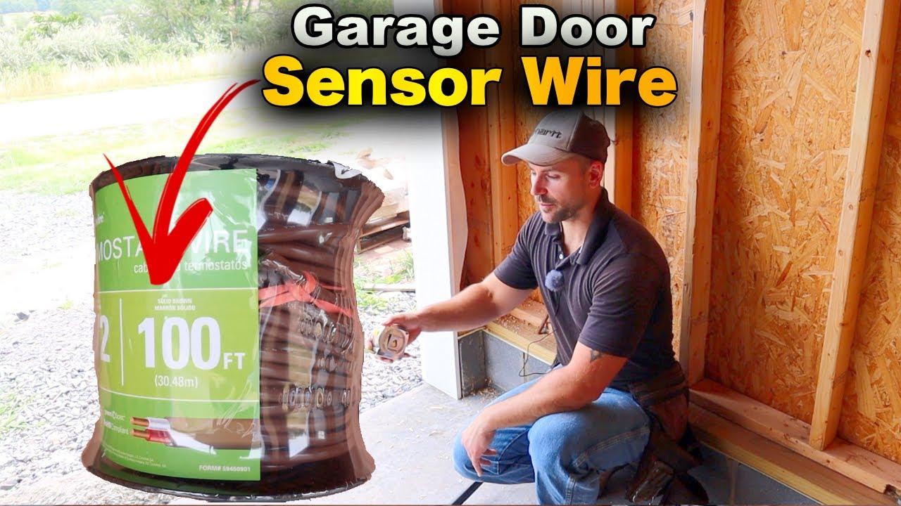 How To Install Garage Door Wiring For Sensors