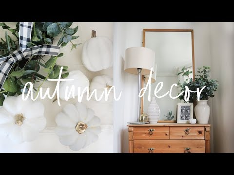 Decorate & DIY with Me for Autumn 2018 | Budget Home Decorating Tips