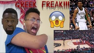 THE GREEK FREAK IS PUTTING FEAR IN MY HEART!!! Bucks vs Raptors Full Game Highlights Reaction