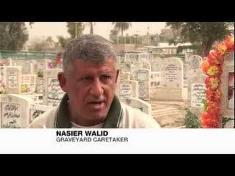 Burying the dead in Baghdad - 04 Mar 08