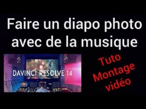 Comment faire un montage photo avec Da Vinci Resolve