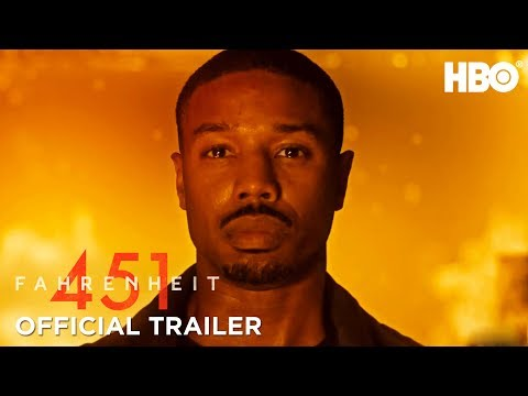 Fahrenheit 451 (2018) Official Trailer ft. Michael B. Jordan & Michael Shannon   HBO