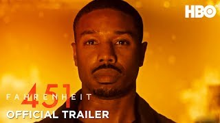 Fahrenheit 451 (2018) Official Trailer ft. Michael B. Jordan & Michael Shannon | HBO thumbnail