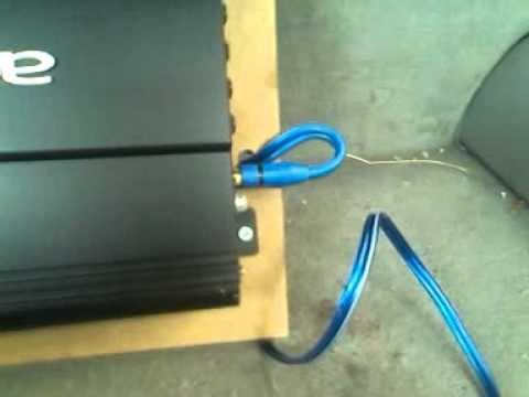 the amp set up autotek 1500watt the amp set up autotek 1500watt