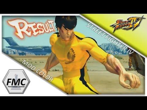 FMC - Street fighter IV - Mod Skins - Bruce Lee VS Juli (SFZ)