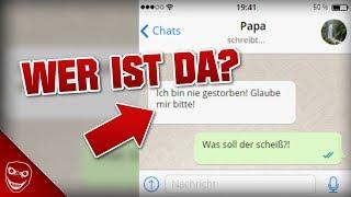 Sei vorsichtig wer dir auf Whatsapp schreibt! - Papa bist du das?