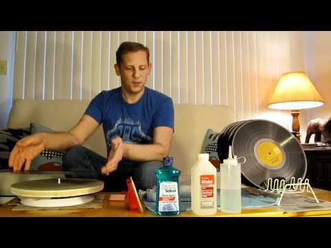 How I Clean Vinyl Records, DIY Pro Quality