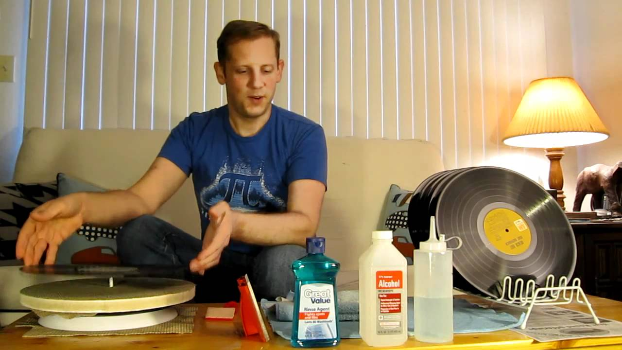 How I Clean Vinyl Records Diy Pro Quality Youtube