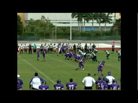 Andrew Rodriguez Class of 2012 QB/FB Senior Highlights