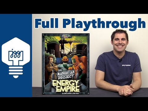 Manhattan Project: Energy Empire Full Playthrough - JonGetsGames