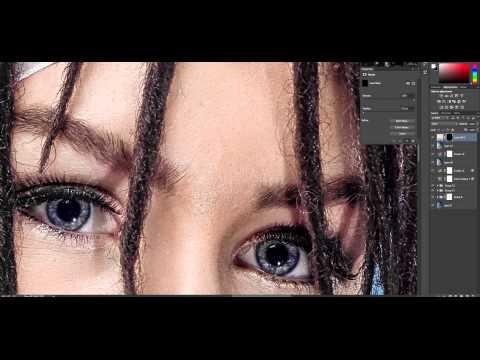 Fine Skin Retouching Techniques In Photoshop