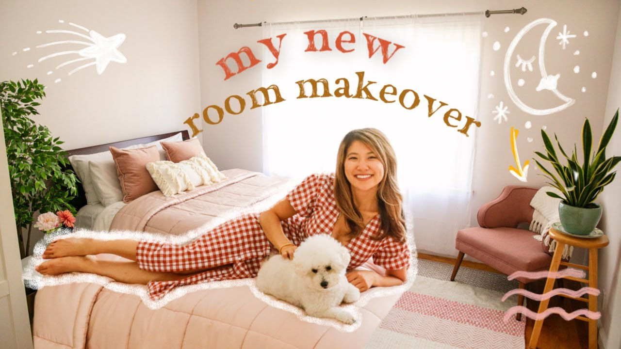 Extreme Bedroom Makeover Room Tour 2019 Aesthetic Decor Ideas Youtube