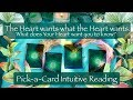 What Your Heart Wants  PickaCard  Tune into Love