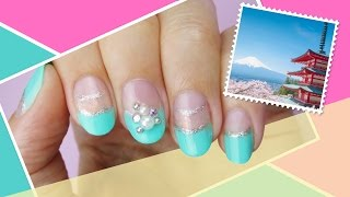 Tokyo Inspired Nail Art ∞ The World At Your Fingertips w/ cutepolish
