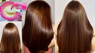 Melhor mistura DESMAIA, ALINHA e SELA cabelo na hora SEM QUÍMICA