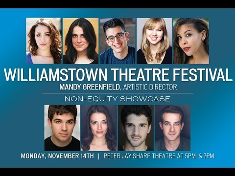 The 2016 Williamstown Theatre Festival Non-Equity Showcase!