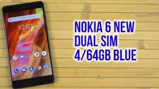 Розпакування Nokia 6 New Dual Sim 4/64GB Blue