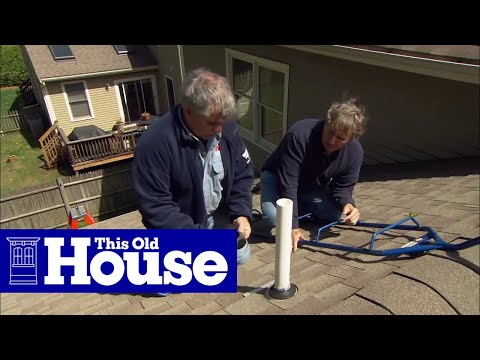 Outdoor Vent Covers >> How to Fix a Leaking Rooftop Vent Pipe - This Old House ...