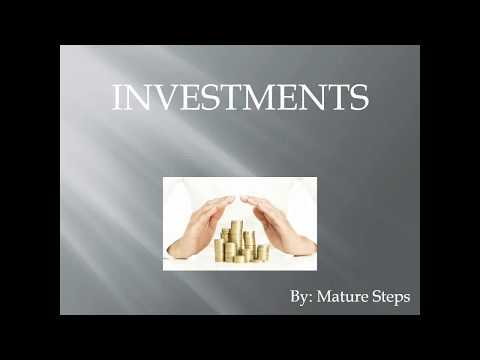 Types of Investment in India (in Hindi) - A glimpse on India