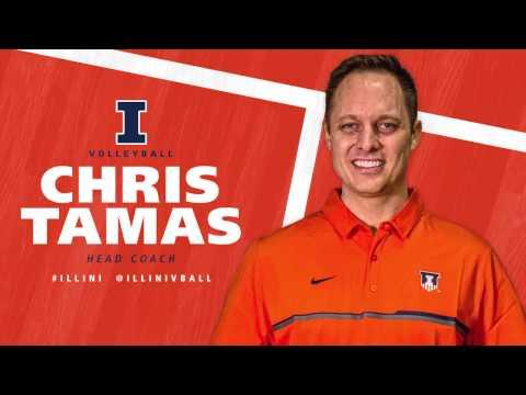 Illinois Volleyball - Head Coach Chris Tamas Career Highlights