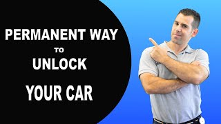 How to unlock a car door without a key