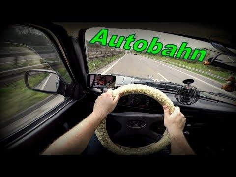 🚗 LADA Niva - Autobahn
