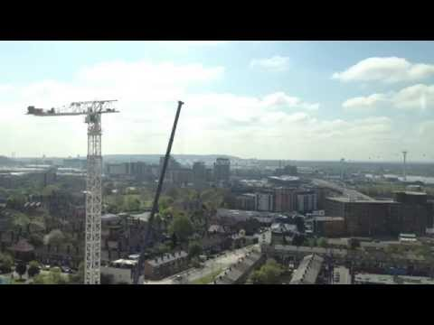 Time-lapse Tower Crane Assembly