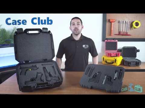 Case Club 5 Pistol Carry Case  - Overview - Video