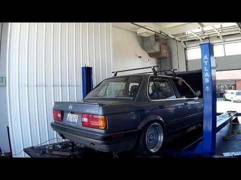 BMW E30 Turbo S52 Dyno