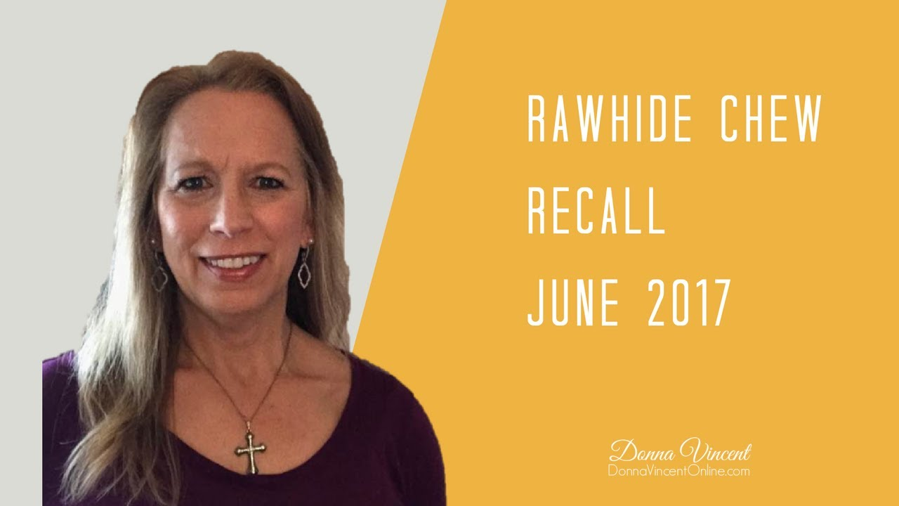 Recall on potentially contaminated rawhide dog chews is expanded