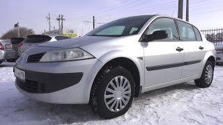 2008 Renault Megane 1.4 MT.  Start Up, Engine, and In Depth Tour.