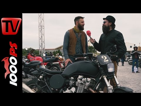 Plädoyer fürs Motorradfahren | Adrian von BeUnique am Wheels & Waves 2016