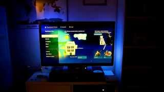 Ps4 With Raspberry Pi Led Ambilight Setup, Running In Real Time