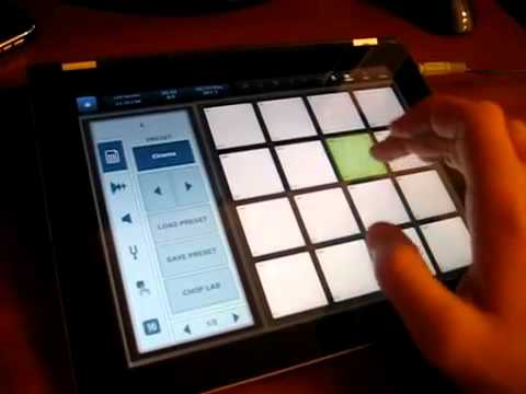 Skrillex-CINEMA on BEATMAKER IPAD