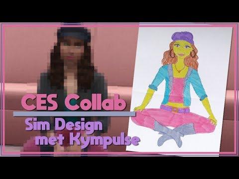 De Sims 4 | Collab Met Kympulse | Sim Design