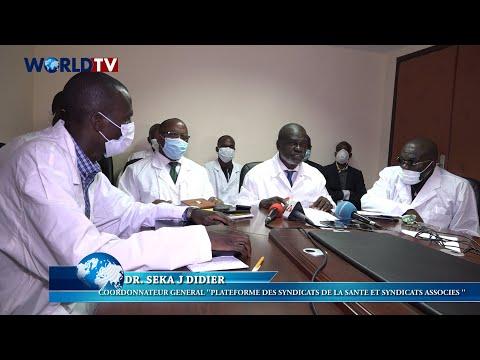 Côte d'Ivoire – Coronavirus: Déclaration de la Plateforme des Syndicats de la Santé