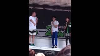 2014年5/24に開催された2りんかん祭りWESTでのレイザーラモンRGによる...