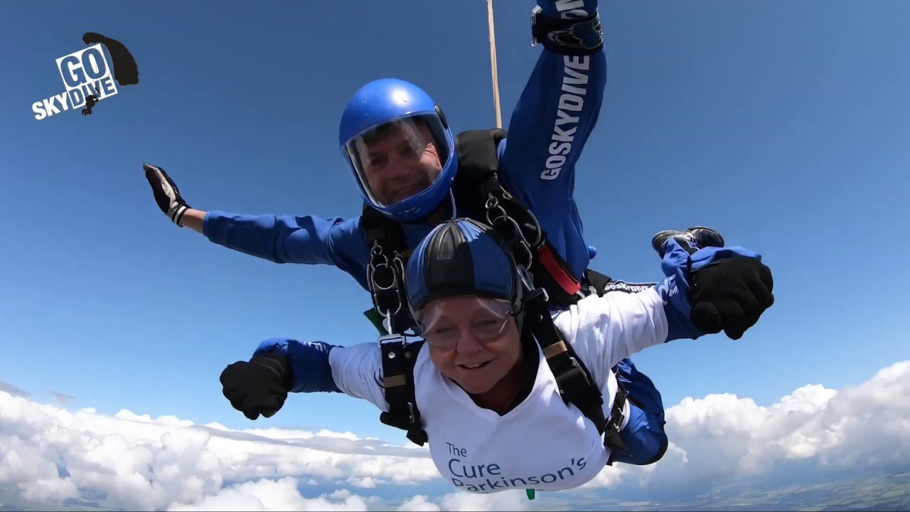 Skydiving | The Cure Parkinson's Trust