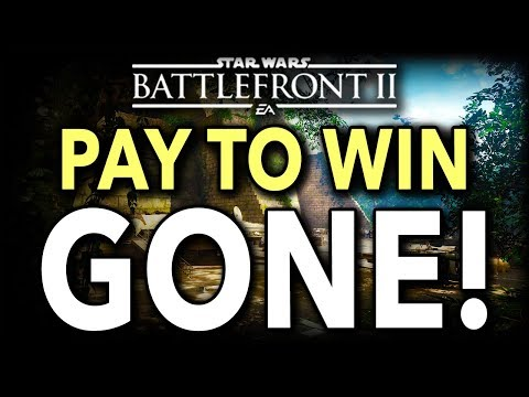 PAY TO WIN GONE! Star Wars Battlefront 2 is Saved!
