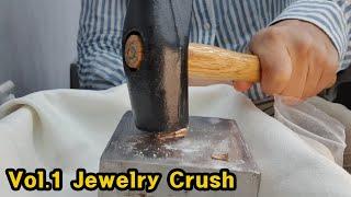[Vol.1] Jewelry Crush │귀금속 부수기 1탄│소아벨라쥬얼리