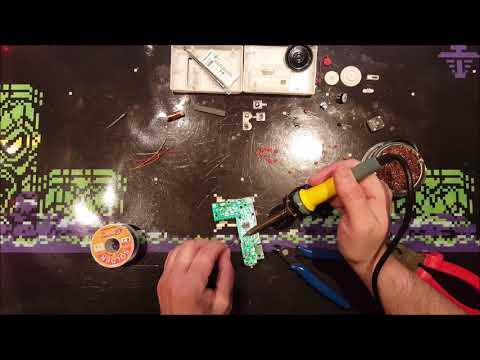 Building an AM/FM DIY Radio kit (CF210SP)