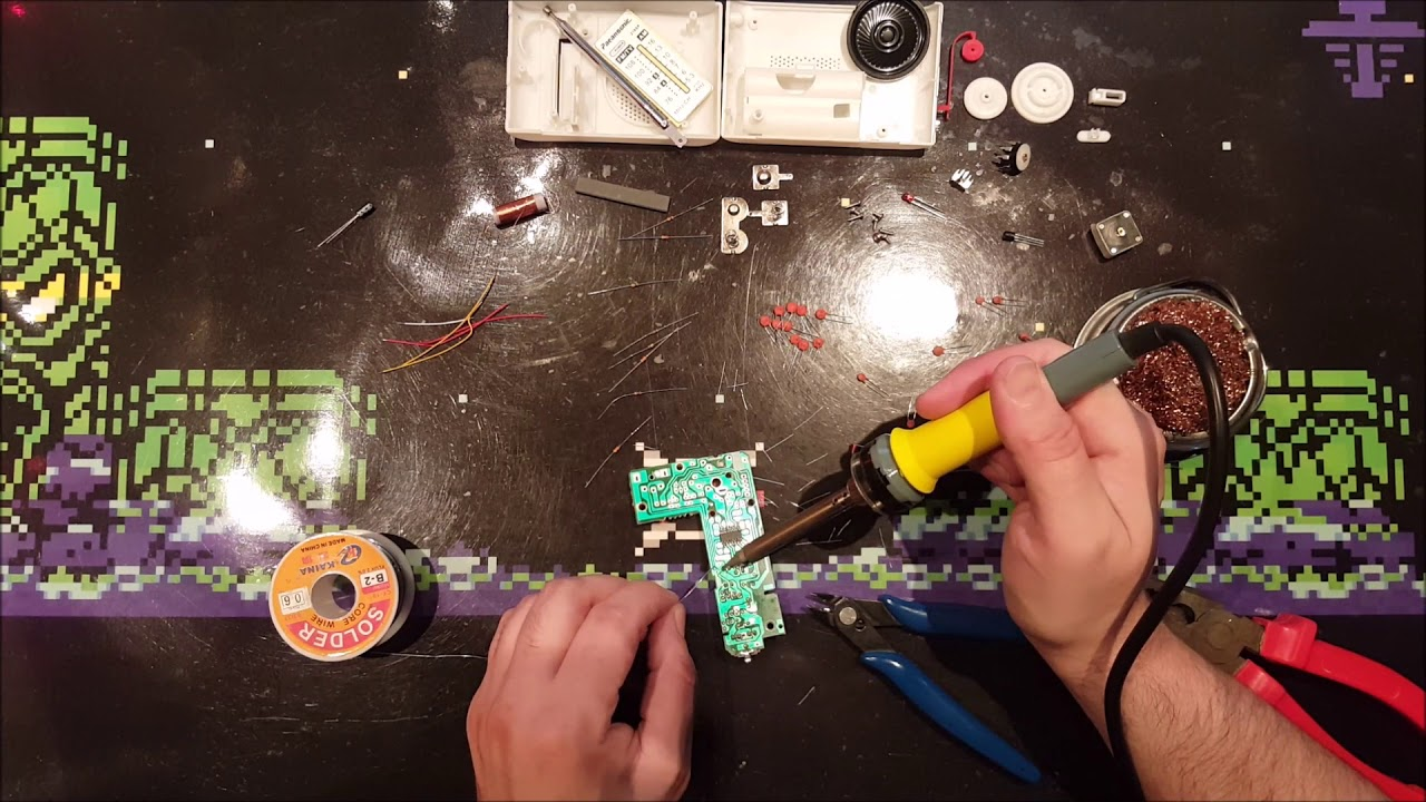 Building An Am Fm Diy Radio Kit Cf210sp Youtube Details About Create Your Own Transistor Circuit Board