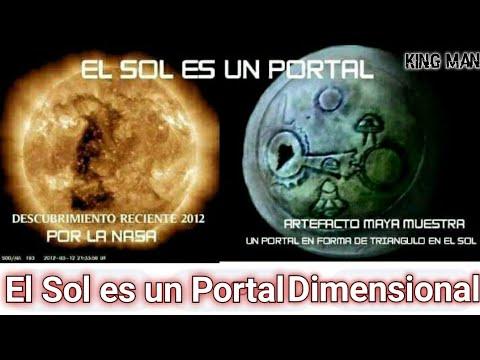 El Sol es un Portal Estelar por el cual pasan naves gigantes de civilizaciones extraterrestres ???