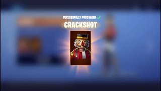 FORTNITE BUYING CRACKSHOT
