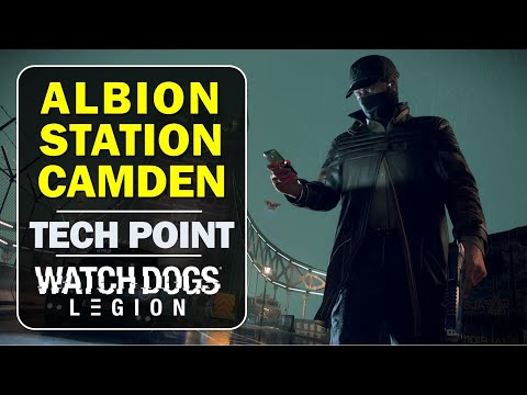 Albion Station Camden: How to get the Tech Point | Watch Dogs Legion (Tech Point Location Guide)