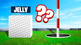 SQUARE BALL vs. CIRCLE HOLE! (Golf It Troll)